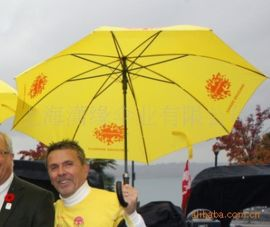 直杆广告雨伞、加工定制广告促销雨伞、上海洋伞定制加工厂
