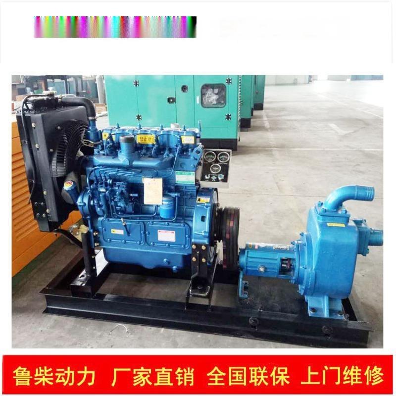 柴油机配水泵四缸六缸柴油机配套各类水泵带移动拖车防雨棚变速箱