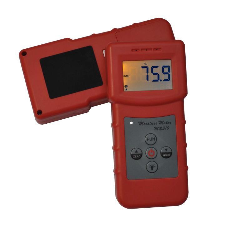 无损伤丝质绸缎水分测定仪MS310
