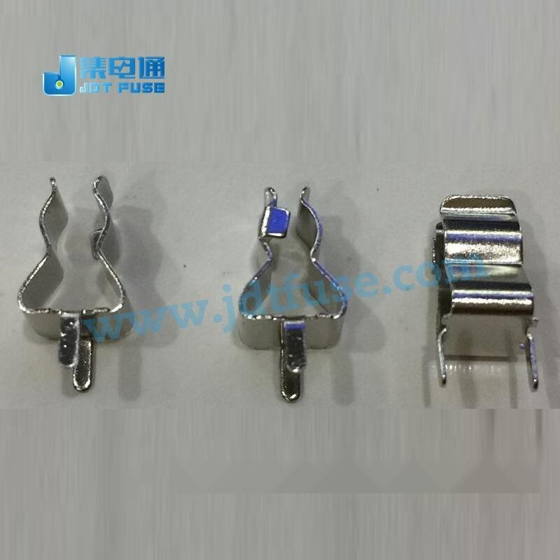 廠家直銷保險管5*20夾子/座子,保險絲夾5x20mm PCB捍接保險座