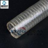 食品级钢丝管, 白酒酱油食品油输送软管, 透明钢丝增强软管
