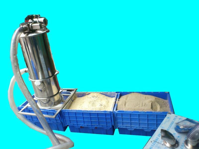 长沙真空上粉机,全自动粉末输送设备