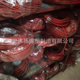 生产供应 耐酸碱耐腐蚀氟胶条 氟胶管 实心氟胶胶条 规格齐全