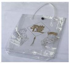 厂家供应  pvc手提袋  pvc服装袋 pvc挂钩袋 pvc圆筒袋
