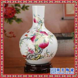 批发供应青花粉彩各类陶瓷花瓶  客厅卧室床头必备摆设用品