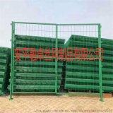 高速公路铁路边框铁丝围栏网浸塑防护栏