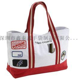 生產定制棉布帆布禮品袋