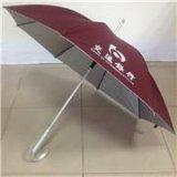 交通银行 23寸X8K自动铝中棒直杆广告伞