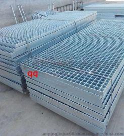 徐州镀锌钢格板 镀锌钢格板 楼梯踏步板 平台沟盖 电厂踏步板水厂踏步15297662515
