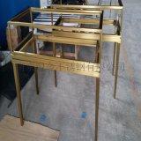 珠宝柜不锈钢展览展示道具