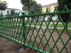 包头竹节围栏网公园环保仿生态竹节围栏网