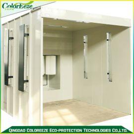 供应粉末回收系统,喷粉房,单工位喷房,环保设备