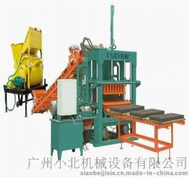 制砖机QT5-20全自动液压砌块成型机