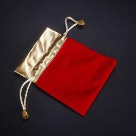 珠宝首饰袋小叶紫檀饰品福袋绒布袋盘珠文玩袋抽绳束口袋定做批发