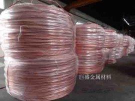 专业生产红铜铆料线 蘑菇电极用紫铜线材 厂家直销质量保证