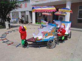 厂家直销新款猴子拉车 大型室内儿童玩具广场户外游乐园游乐设备