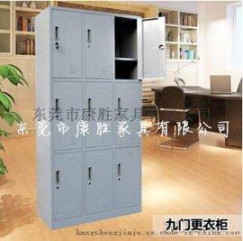 东莞公司无尘车间不锈钢 衣柜-12门不锈钢鞋柜