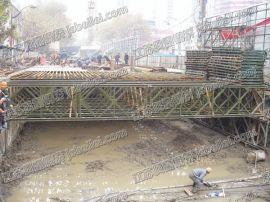 江蘇貝雷 6m桁架鋼橋-南京應用 鋼便橋 貝雷橋應用 價格低