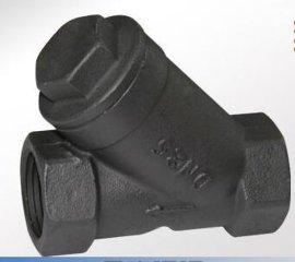碳钢Y型过滤器GL11H,蒸汽过滤器