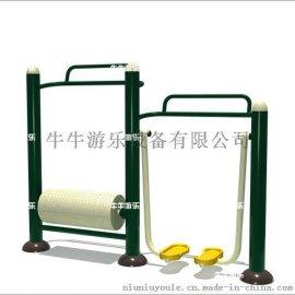 牛牛游乐 户外健身器材 水车漫步机组合器材
