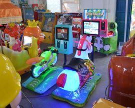 神童遊樂廠家直銷最新款兒童搖擺機歡樂馬