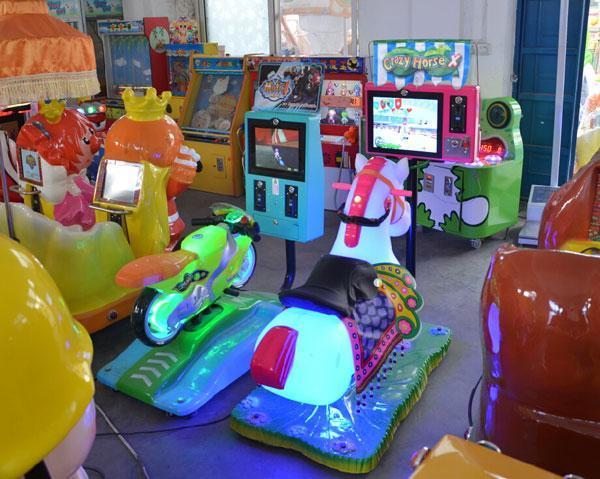 神童遊樂廠家直銷  款兒童搖擺機歡樂馬