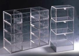 展示盒 有机玻璃展示盒 资料展示 透明亚克力资料盒