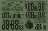 数字气压天气预报LCD电波钟