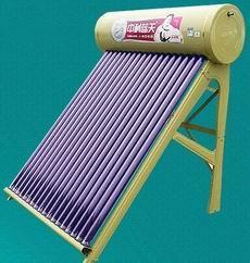 保定阳台壁挂平板太阳能热水器工程|中科蓝天太阳能很专业