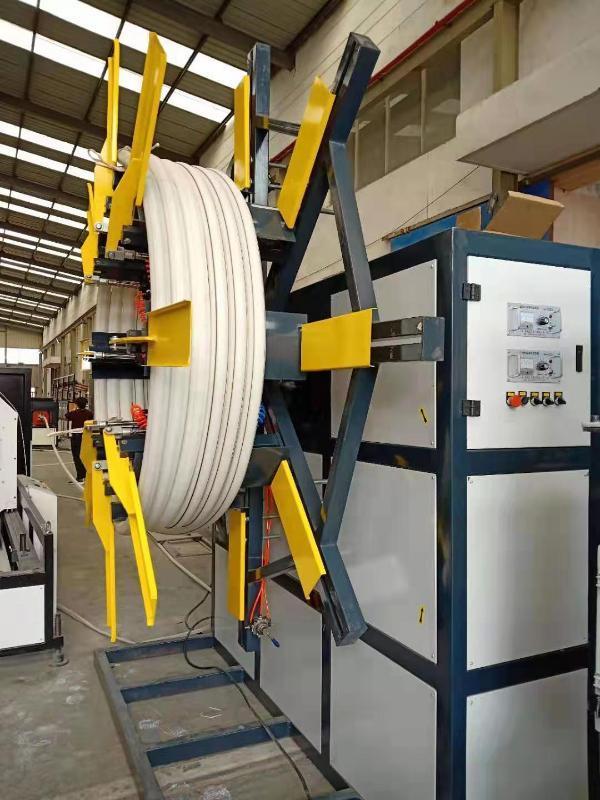 供应单盘收卷机 PE软管塑料管材单盘收卷机