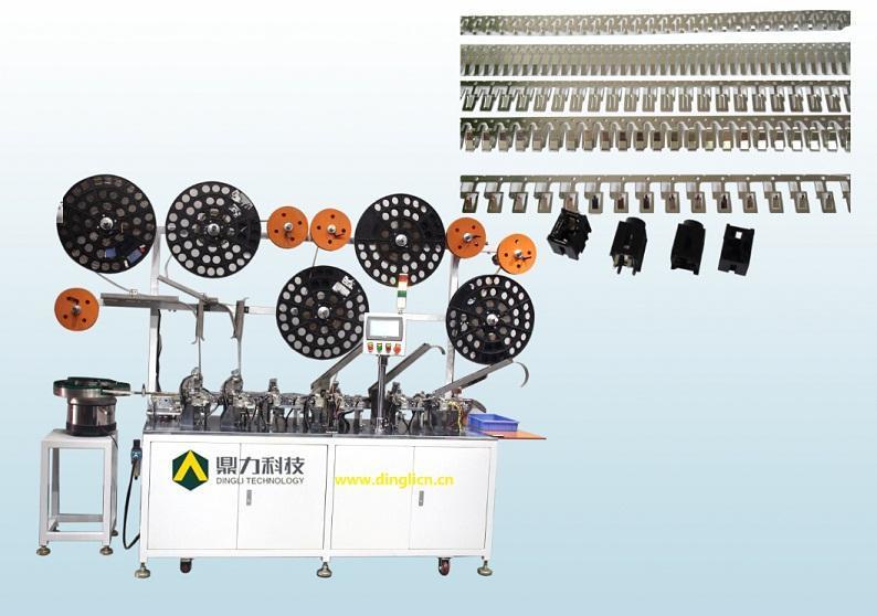 耳机插座自动组装机,东莞市鼎力自动化科技有限公司,