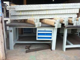 铁板工作台 钢板工作台