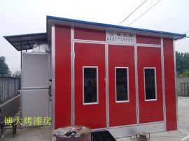 潍坊市防雨烤漆房安装实例