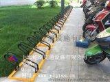 卡位式單車停車架 屹嵐牌單車停車架 螺旋式碳素鋼自行車停車架