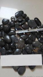 3-5厘米黑色鹅卵石价格 石家庄黑色鹅卵石价格