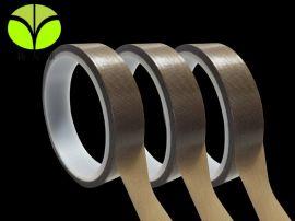 供应 防静电铁 龙耐高温胶带 咖啡色铁 龙 耐磨绝缘PTFE纤维胶带
