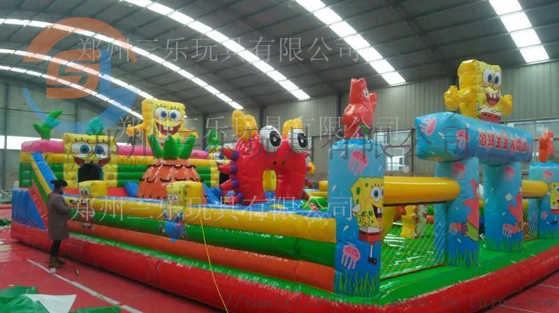 陕西榆林儿童充气城堡新款促销价