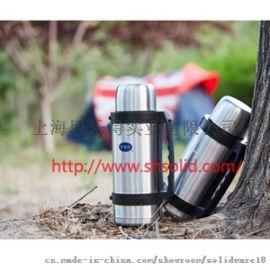 上海名牌不锈钢真空保温瓶 旅行保温瓶生产厂家思乐得