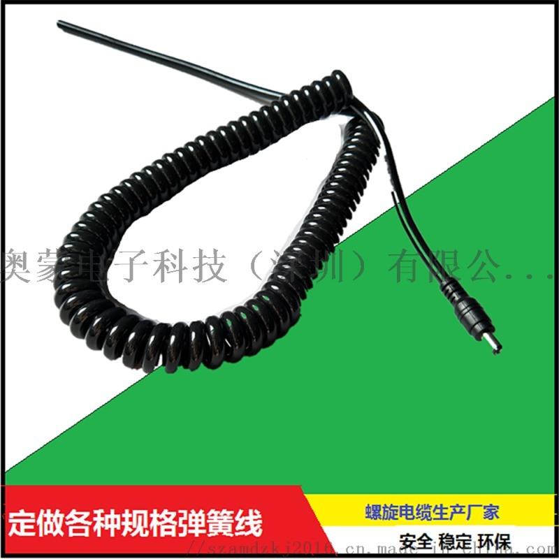 PU TPU PVC 弹簧线螺旋线定制厂家