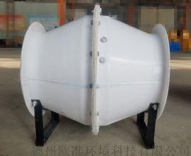 厂家销售FSJG-4F玻璃钢斜流风机 管道通风机