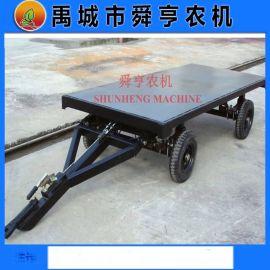 农用拖拉机牵引四轮平板车 定做各种平板车厂家