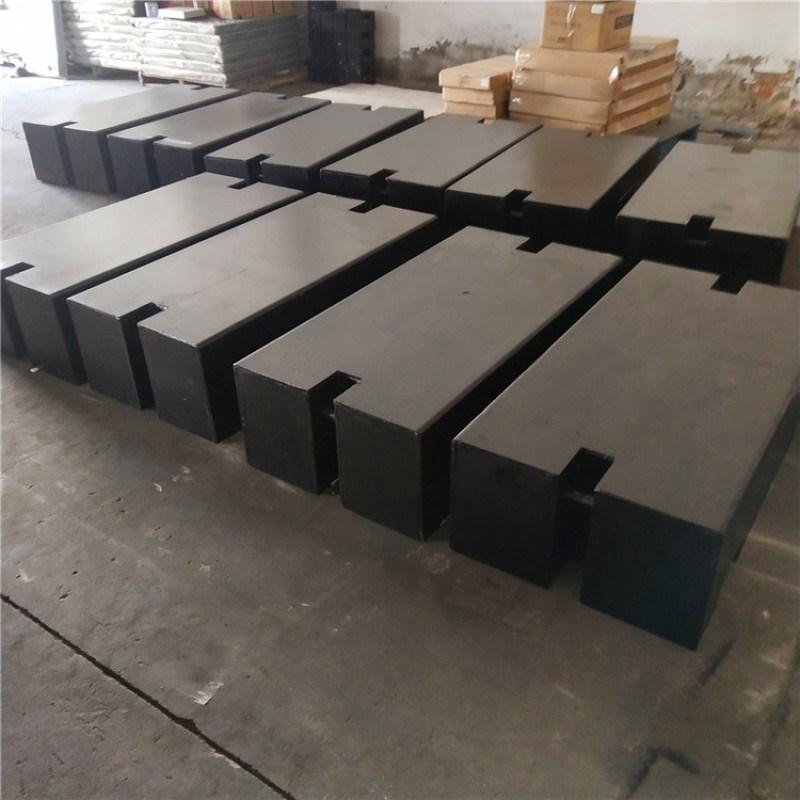 芝罘1T工程机械配重铁2吨铸铁砝码