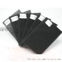 厂家直销30PPI黑色阻燃防尘过滤棉