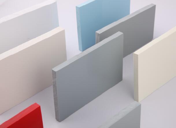 供应PVC板聚氯乙烯板 PVC硬板 PVC塑料板挤出板 力达灰色pvc板材