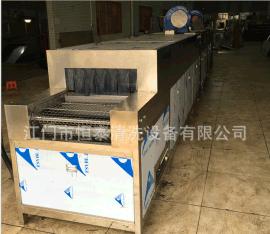 热销广东不锈钢管超声波除油自动清洗烘干生产线