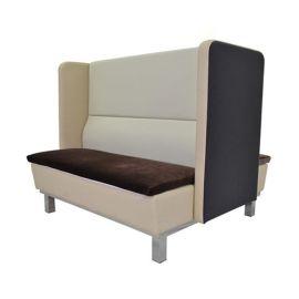 众美德新款咖啡厅西餐厅奶茶店甜品店双人位沙发