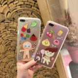 韓國餅幹女孩蘋果6/7手機殼創意卡通iPhone6/7plus全包硅膠保護套