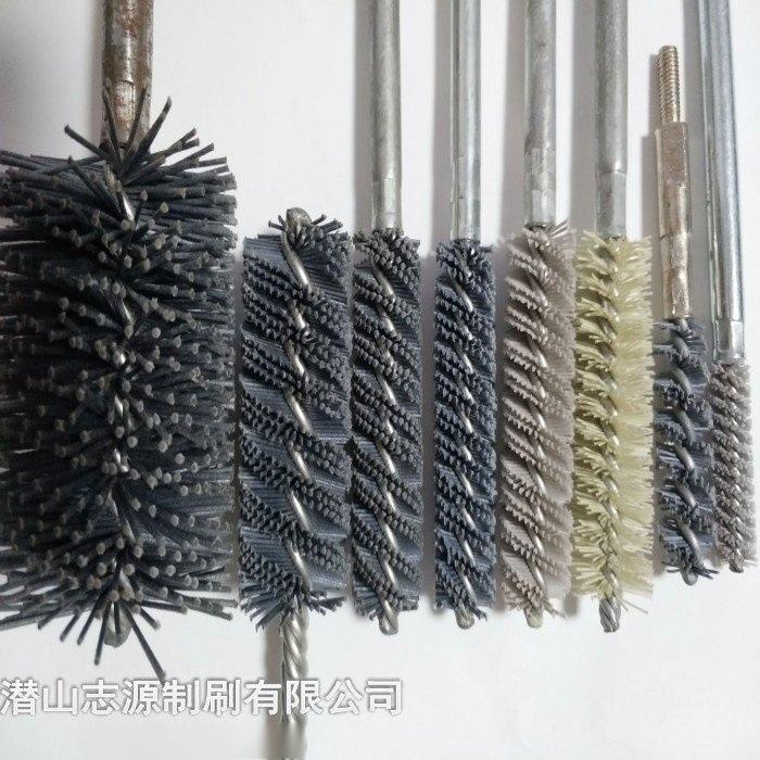 铜丝管道刷/钢丝管道刷/铜丝刷/铜丝除锈刷/铜丝通刷/钢丝试管刷