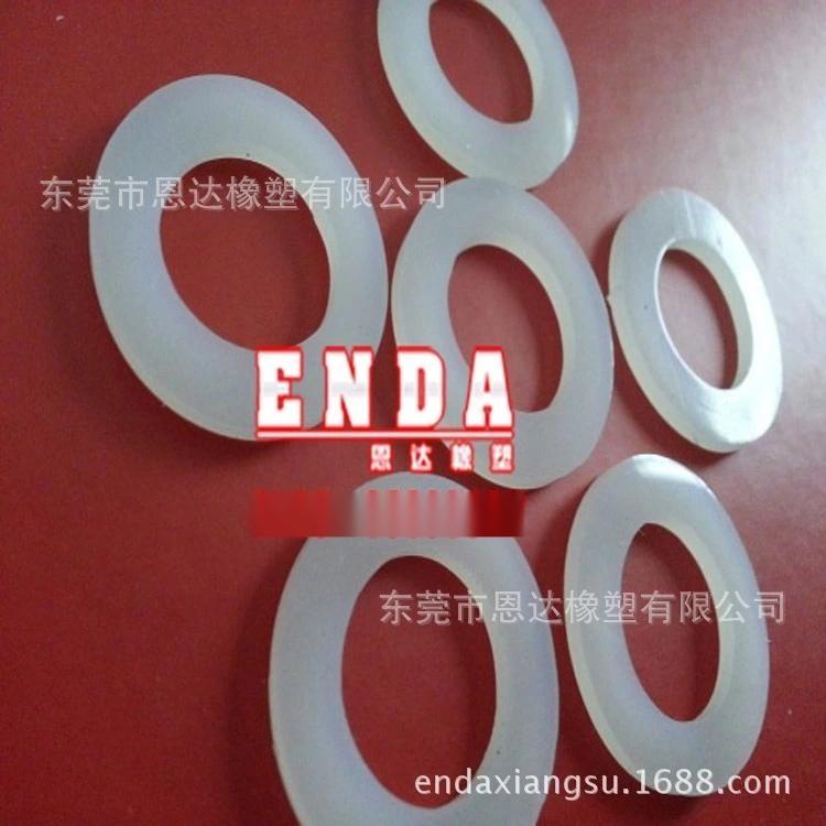 生产** 环保硅胶密封平垫片 不规则硅胶防水垫圈 圆形厚垫片