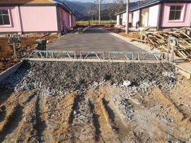 小型路面摊铺机 修路专用混凝土整平机 震动梁